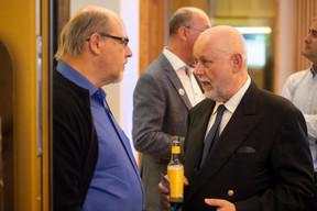 Patrick Wallerand (At home and abroad) et Paul Schonenberg (Amcham) ((Photo: Anthony Dehez))