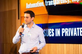 Matthieu Cottin (Tokeny), 1er prix des Fintech Award 2019 ((Photo: Anthony Dehez))