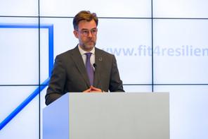 Franz Fayot prolonge d'un an le programme Fit 4 Resilience, qui vise à aider les entreprises à se réinventer en période de crise, notamment en termes de digitalisation. (Photo: SIP / Emmanuel Claude)