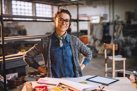 Les artisans aussi pourront avoir accès à un diagnostic des outils digitaux dont ils pourraient avoir besoin. (Photo: Shutterstock)