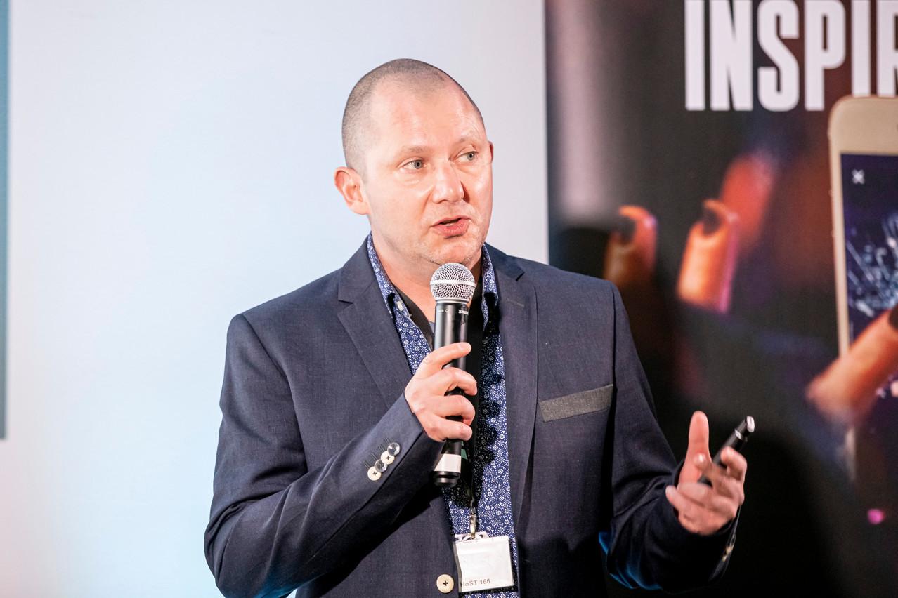Theo Short, le cofondateur de CleverYak, l'une des neuf start-up luxembourgeoises sélectionnées par le programme Fit4Start. (Photo: Julian Pierrot / Maison Moderne)