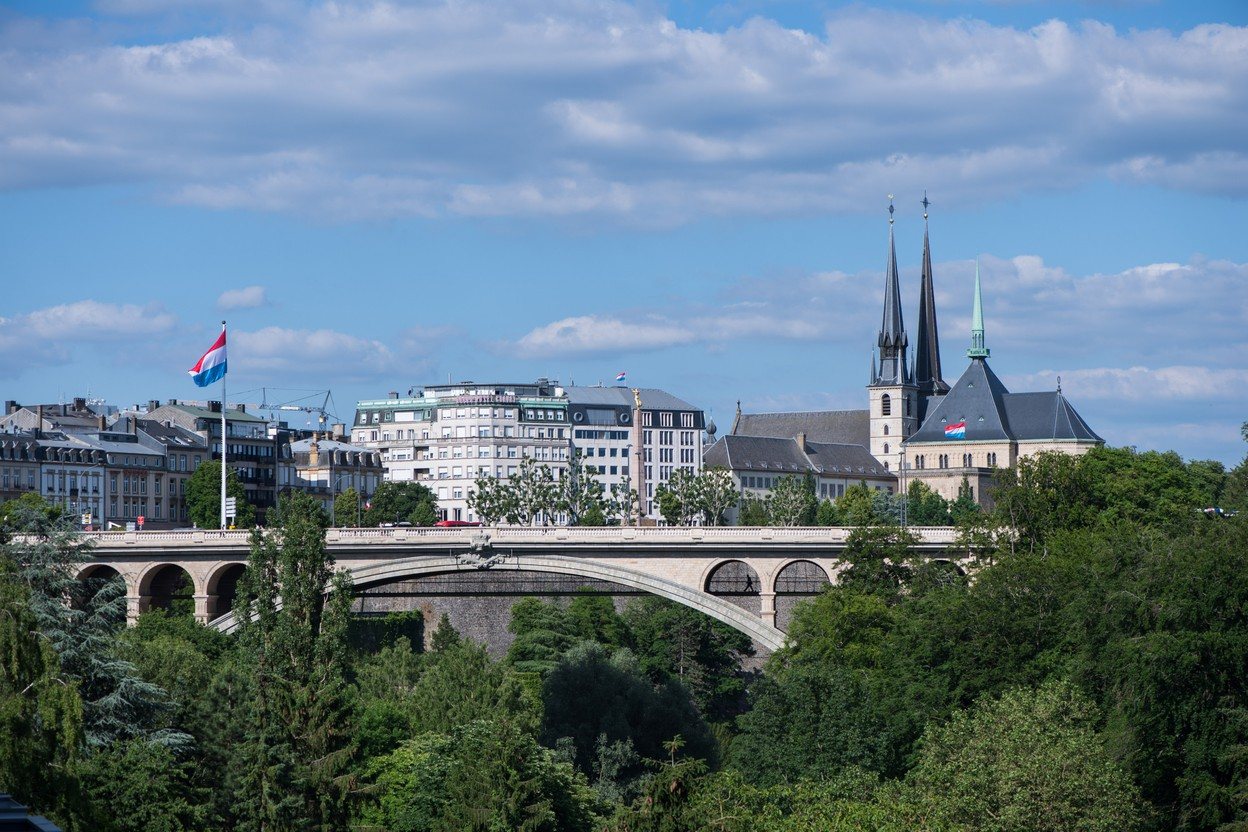 View of Luxembourg City Photo, Nader Ghavami
