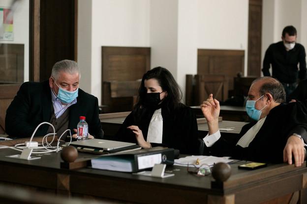 Après une dernière réplique de son avocat HervéTemime, en forme de plaidoirie pour réclamer sa relaxe, Flavio Becca devra patienter jusqu'au 4 mars pour connaître la décision des juges. (Photo: Matic Zorman / Maison Moderne)