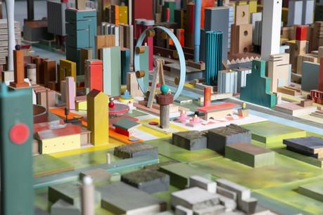 L'installation de Floris Hovers est une réflexion sur l'espace urbain. (Photo: Blitz Agency)