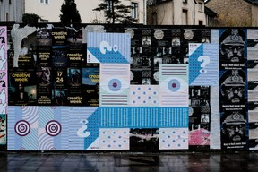 omniscientbeing propose un message d'espoir face à la situation de la pandémie. ((Photo: Cercle Cité-Iyoshi Kreutz))