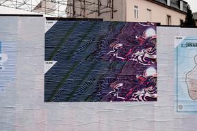 Michel Welfringer s'est inspiré des drapeaux maritimes et des couleurs de l'artiste Murakami. ((Photo: Cercle Cité-Iyoshi Kreutz))