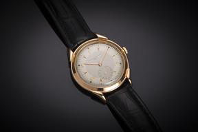 Cette montre Vacheron Constantinde grande taille en or datant de 1940 sera à vendre au prix de 10.000€ par la  Maison Riondet en provenance de Lyon sur le stand2C31. ((Photo: Antiques & Art Fair Luxembourg))