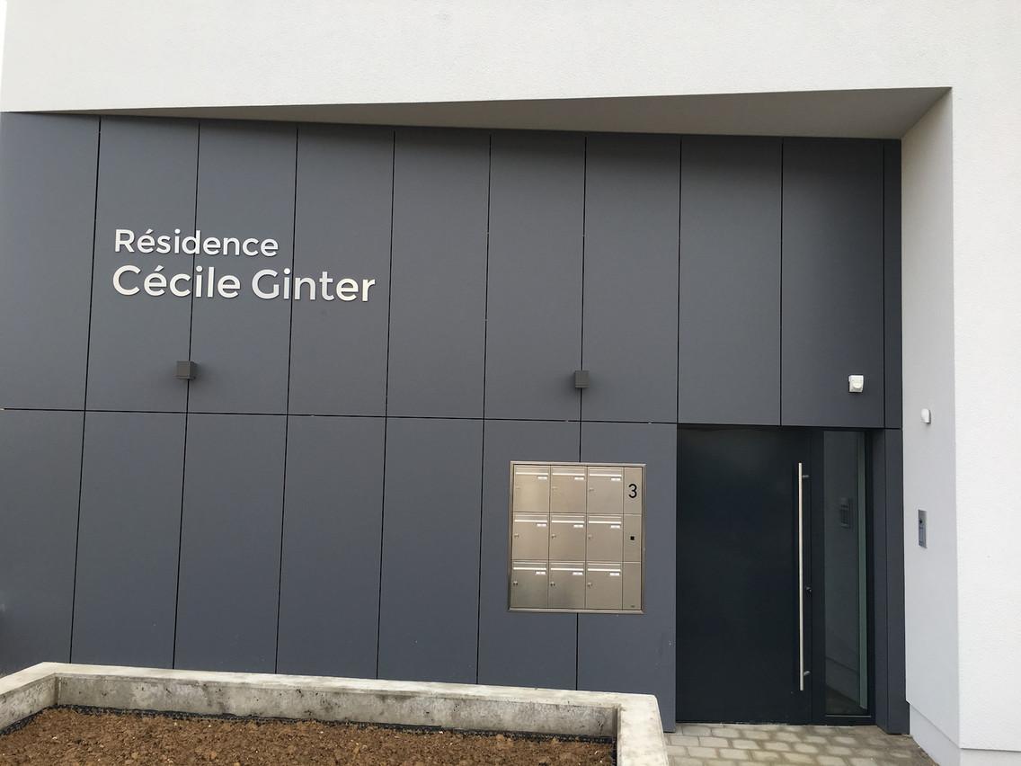 Entrée de la nouvelle résidence. (Photo: Fondation Cécile Ginter)