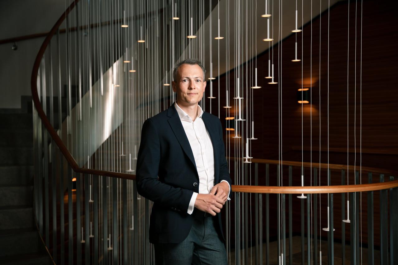 Nicolas Bouveret,  partner  au sein d'Arendt. Crédit: (Photo: Romain Gamba / Maison Moderne)