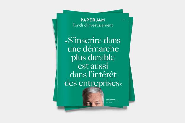 Le supplément Fonds d'investissement est disponible avec le numéro de juin de Paperjam. (Photo: Maison Moderne)