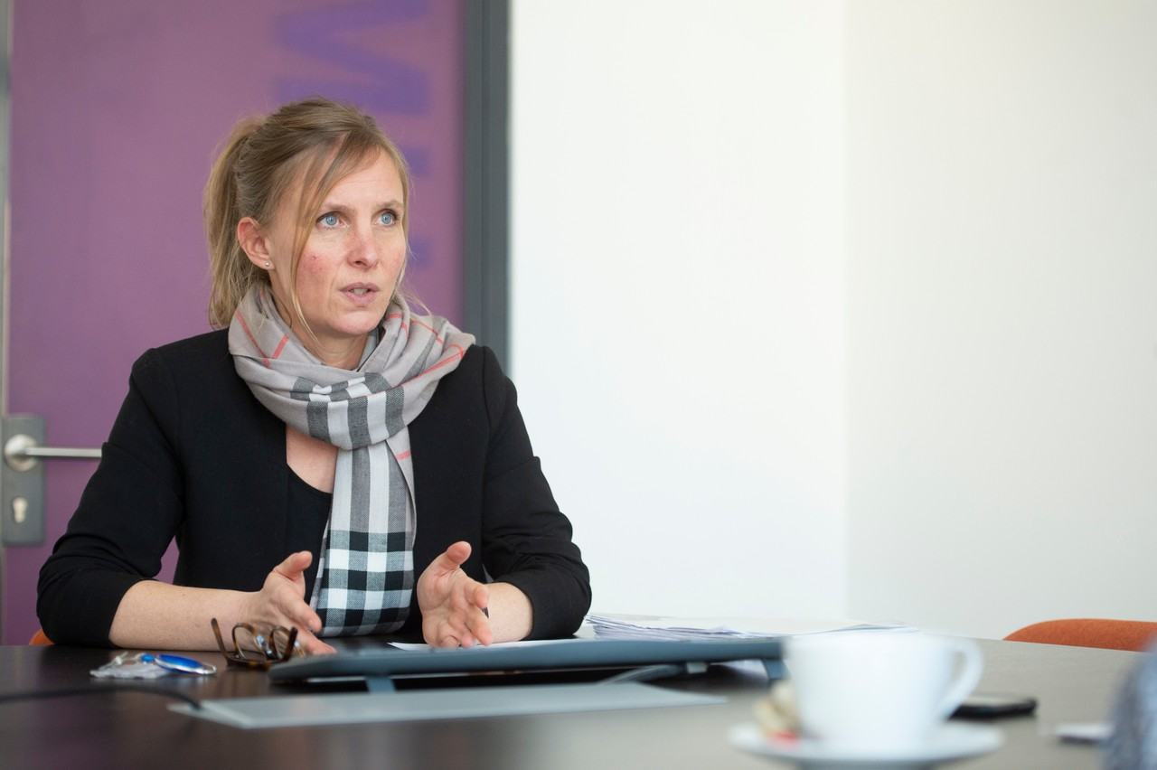 Diane Dupont, présidente du Fonds du logement, a confirmé que 85% de la somme escroquée avait été récupérée. (Photo: Anthony Dehez)