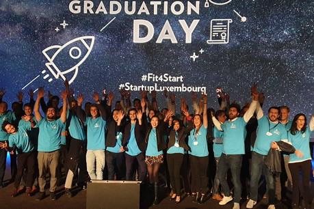 La nouvelle promotion du Fit4Start est arrivée. Plein d'énergie avec des projets dans des tendances verticales comme l'espace ou la santé. (Photo: Luxinnovation)