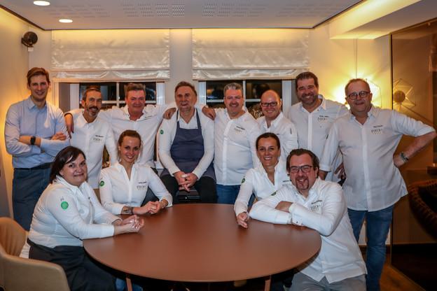 Les 11 ambassadeurs Food-a-Mental s'étaient déjà réunis en décembre dernier lors d'un dîner exceptionnel au restaurant Ma Langue Sourit… (Photo: Food-a-Mental)