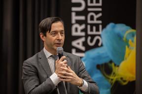BriceLecoustey, partner chez EY et organisateur de l'événement. ((Photo: Romain Gamba / Maison Moderne))