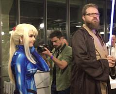LuxCon avait emmené des cosplayers, vêtus comme dans leurs séries préférées. ((Photo: Paperjam))