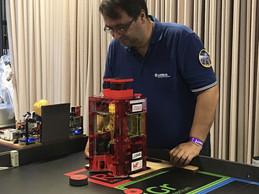 Les robots étaient aussi au cœur des attractions cette année, avec l'organisation d'une compétition de robotique par Planète Sciences et PM-Robotix. ((Photo: Paperjam))