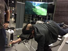 Le stand des Virtual Rangers. ((Photo: Paperjam))