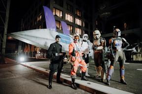 LuxCon avait emmené des cosplayers, vêtus comme dans leurs séries préférées. ((Photo: Bil))