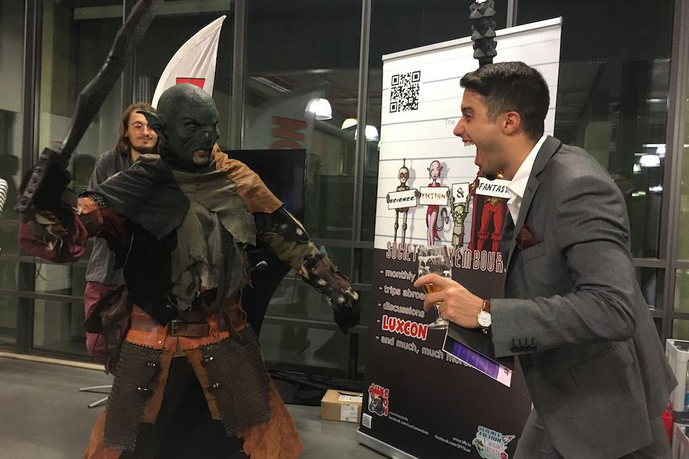 Pour que la 4e nuit, sur le thème de Star Wars, soit encore plus crédible, LuxCon a amené des cosplayers, déguisés sur différents thèmes, dont celui de la saga. (Photo: Paperjam)