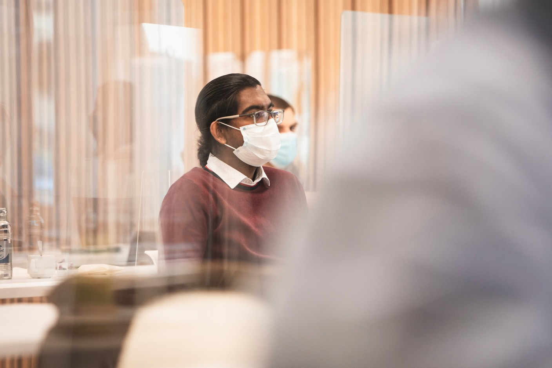 Sharma Gokhool (RBC) (Photo: Simon Verjus/Maison Moderne)