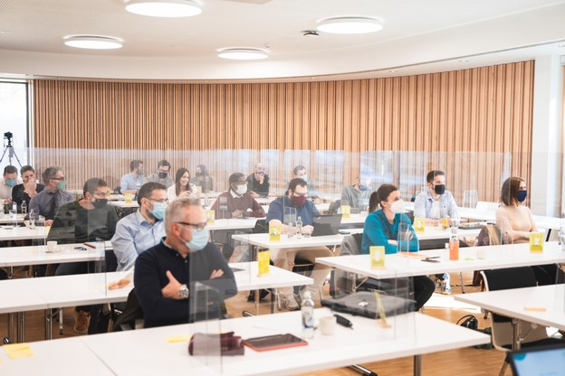 Formation avancée (2/6): Savoir déléguer - 21.04.2021 (Photo: Simon Verjus/Maison Moderne Publishing SA)