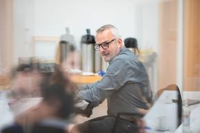 Alain Noullet (Initium Group) ((Photo: Simon Verjus /Maison Moderne))