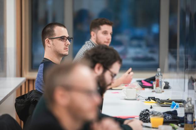 Formation avancée (5/6): Les outils du manager Agile - 26.10.2021. (Photo: Simon Verjus/Maison Moderne)