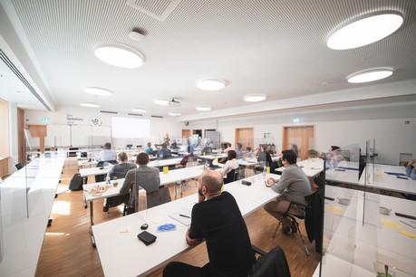 Le Paperjam + Delano Club propose, lui aussi, des formations, aussi bien axées sur le marketing que les ressources humaines. (Illustration: Simon Verjus/archives Maison Moderne)