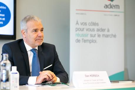 Le ministre Dan Kersch appelle les organismes publics concernés à proposer des stages aux demandeurs d'emploi afin de «contribuer à leur réintégration sur le marché de l'emploi». (Photo: Matic Zorman / Maison Moderne)