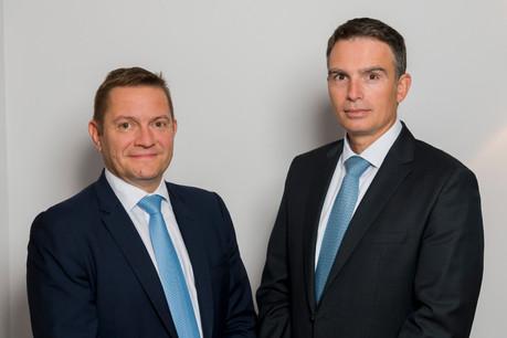 Mike Felten et Jerry Grbic, respectivement directeur et directeur général, continueront à gérer l'équipe de Fortuna Banque. (Photo: Fortuna Banque)