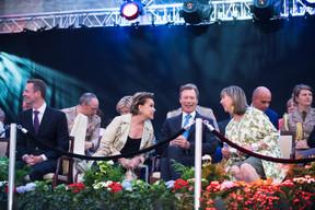 Serges Wilmes (CSV), S.A.R. la Grande-Duchesse Maria Teresa, S.A.R. le Grand-Duc Henri et Lydie Polfer (Bourgmestre de la Ville de Luxembourg) ((Photo: Nader Ghavami))