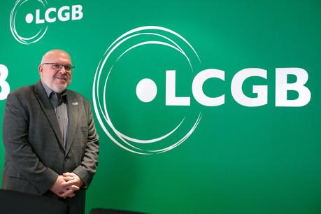 Seul candidat à sa succession, Patrick Dury reste le président du LCGB. Il explique les prochains combats du syndicat qui fête cette année son centième anniversaire. (Photo: Matic Zorman / Maison Moderne)