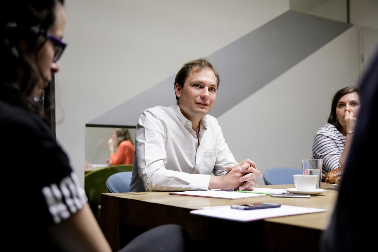 Journaliste dans les années2000, FrançoisBenoy a coordonné l'asbl natur&ëmwelt avant de décrocher son premier mandat politique à la Ville en 2013. (Photo: Jan Hanrion / archives / Maison Moderne)
