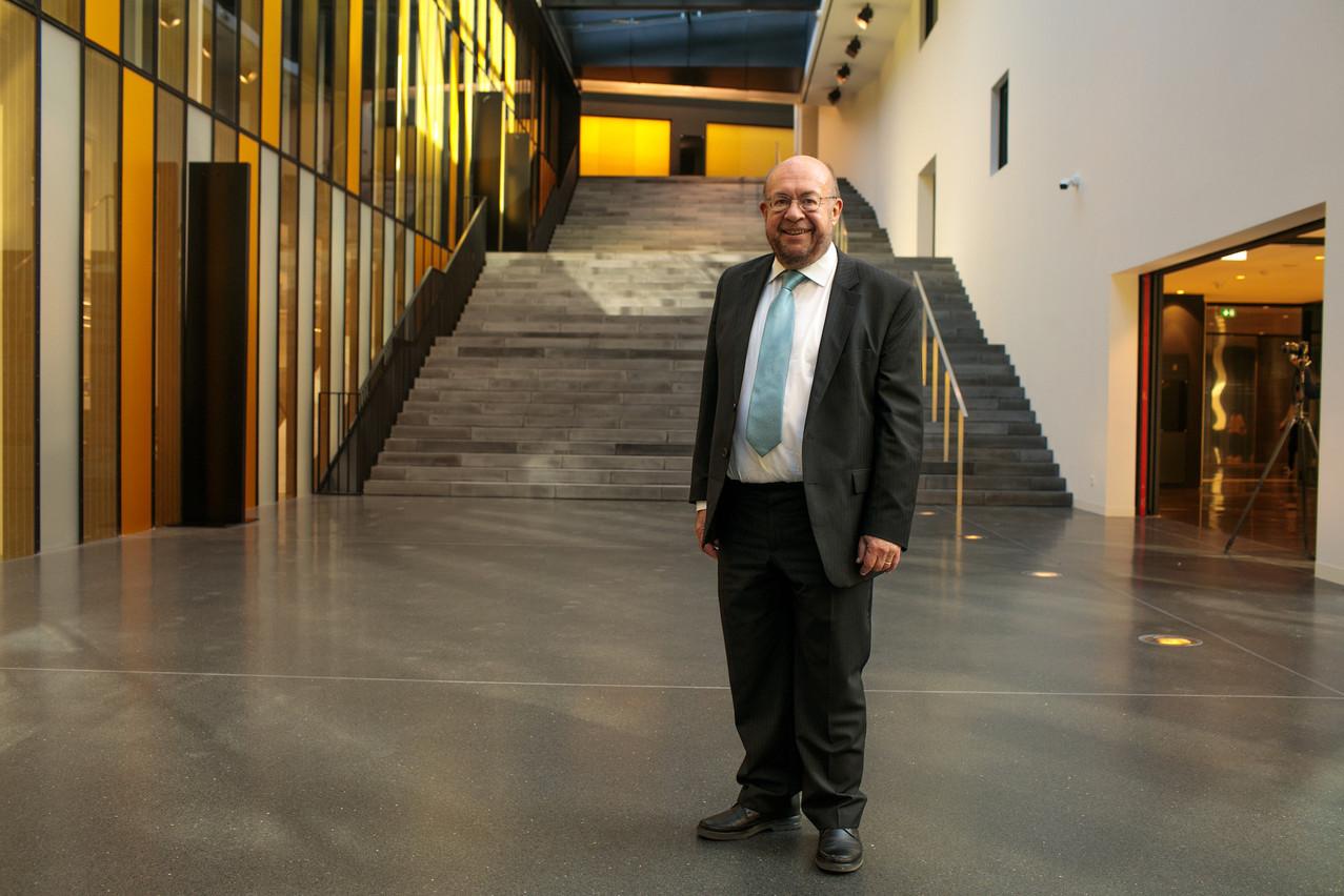 FrançoisBiltgen est reconduit dans la fonction qu'il occupe depuis 2013. (Photo: Matic Zorman/archives Maison Moderne)
