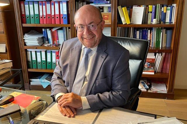 Encore étudiant de1978 à 1982, FrançoisBiltgen a exercé le métier de journaliste pour le Républicain Lorrain. (Photo: DR)