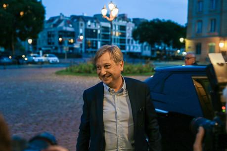 François Grosdidier est maire de la ville de Metz depuis un peu plus de neuf mois. (Photo: Romain Gamba / Maison Moderne)