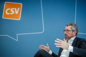 Frank Engel, président du CSV depuis janvier 2019, prêt à repartir au combat pour tirer le parti vers le double scrutin de 2023. (Photo: Matic Zorman/archives)