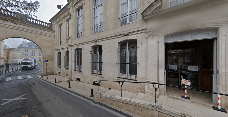 The court of appeals in Nancy is expected to decide on Frank Schneider's extradition and release on parole on 18 November. Photo: Google street view screenshot