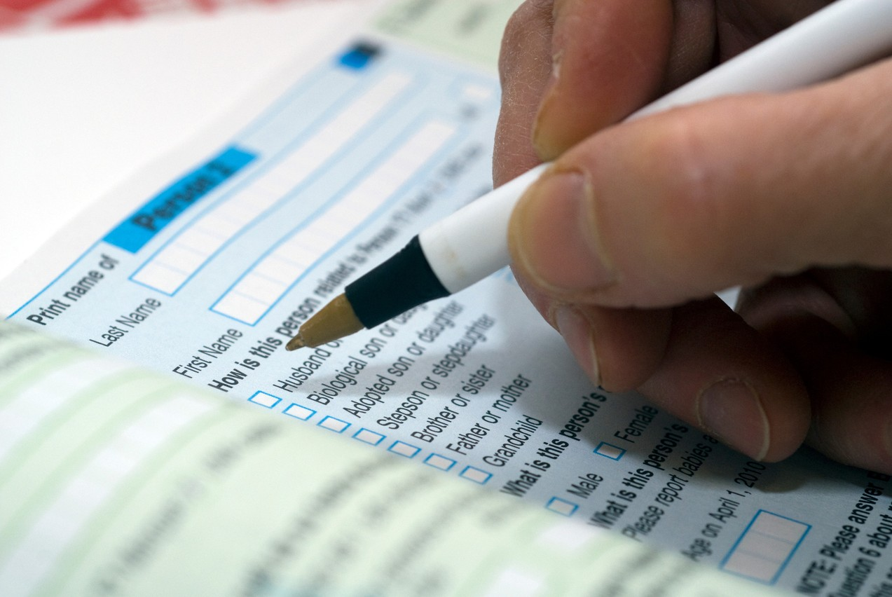 The 2021 census will be carried out between8 November and 5 December. Photo: Shutterstock