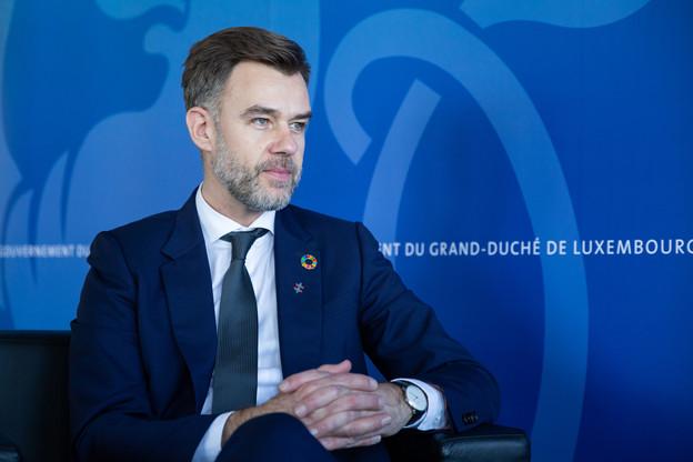 Le ministre de l'Économie préfère un impôt sur la fortune à une taxation des successions. (Photo: Romain Gamba/archives Maison Moderne)