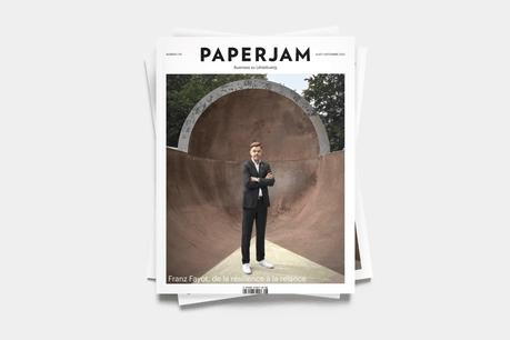 Franz Fayot, en couverture du numéro d'août/septembre de Paperjam. (Photo: Andrés Lejona/Maison Moderne)