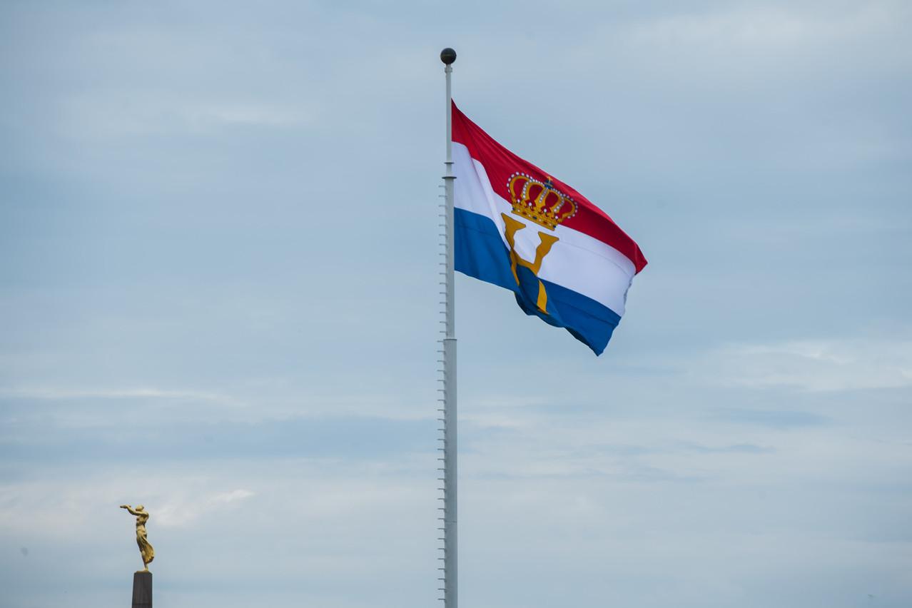 Illustrative photo shows Luxmebourg flag with the insignia of Grand Duke Henri Nader Ghavama
