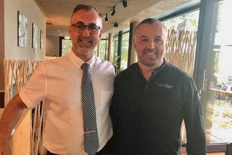 Complice et souvent d'excellente humeur, le duo formé par les frères Angelo et Giovanni Vaccaro s'est vite imposé comme une valeur sûre de la scène culinaire luxembourgeoise. (Photo: Loxalis)