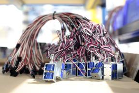 Les composants électriques ne sont pas en reste. ((Photo: Matic Zorman / Maison Moderne))