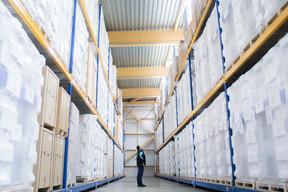 Le stockage est la dernière étape de ces réfrigérateurs«made in Luxembourg», exportés dans le monde entier. ((Photo: Matic Zorman / Maison Moderne))