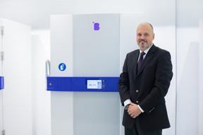 «Le Covid est de loin le plus grand phénomène de commandes qu'on a connu dans notre histoire», admet Luc Provost, CEO de B Medical Systems. ((Photo: Matic Zorman / Maison Moderne))