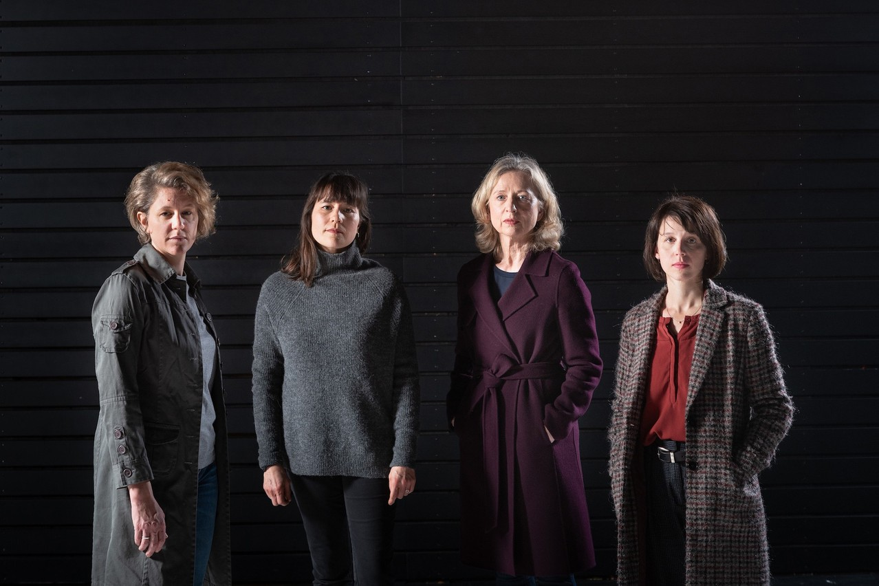 La pièce de théâtre documentaire «Les Frontalières» présente l'expérience de vie de quatre femmes travaillant au Grand-Duché, mais n'y vivant pas. (Photo: Patrick Galbats)