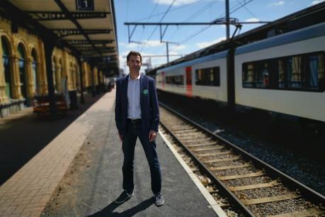 Jean-Philippe Florent continuera à prendre le train. Mais espère aller vers Namur plutôt que Luxembourg. (Photo: Sudpresse/La Meuse Luxembourg)