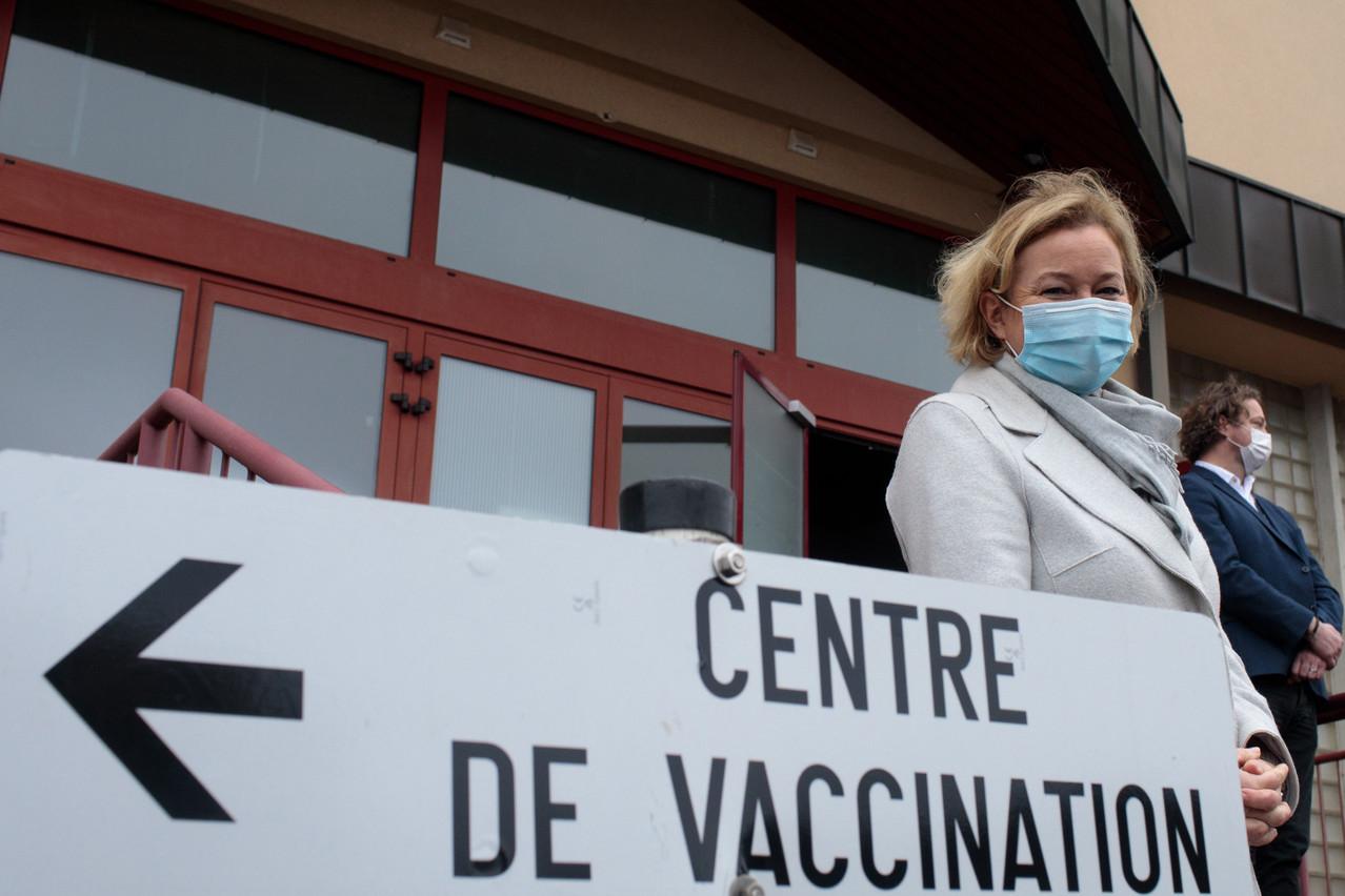 «Les commandes de vaccins sont calculées en fonction du nombre de résidents», a rappelé la ministre de la Santé. (Photo : Matic Zorman/Maison Moderne)