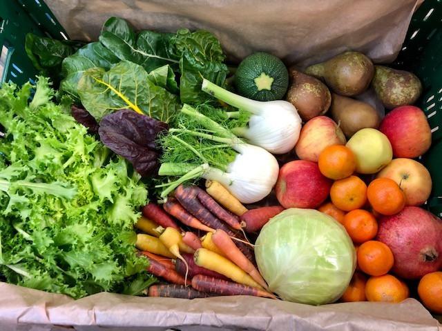 Les fruits et légumes sont directement livrés dans les entreprises. (Photo: Co-labor)